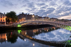 Ha' penny bridge Stock Photo