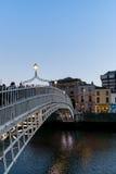 Ha`Penny Bridge Dublin Stock Images