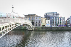 Ha'penny Bridge, Dublin Royalty Free Stock Images