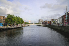 Ha'penny Bridge, Dublin Stock Photography