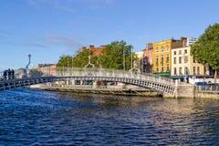 Ha'penny Bridge - Dublin Royalty Free Stock Photography