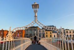 Ha'penny Bridge - Dublin Stock Images