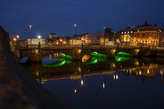 Ha'penny bridge Dublin Stock Photos