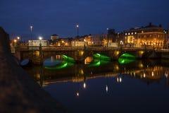Ha'penny bridge Dublin Stock Photos