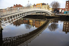 Ha'penny bridge Royalty Free Stock Image