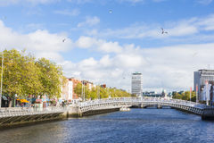 Ha penny Bridge in Dublin Royalty Free Stock Photos