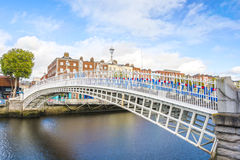 Ha penny Bridge in Dublin Stock Images