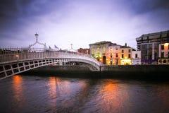 Ha'Penny Bridge Dublin Stock Photography