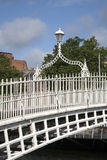 Ha'penny Bridge, River Liffey, Dublin Stock Photography
