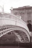 Ha'penny Bridge, River Liffey, Dublin Stock Photo