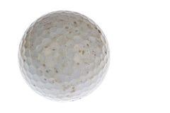Ha utilizzato una palla da golf sporca fotografia stock