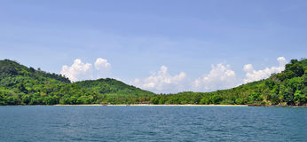 Haad Farang beach at Mook island Royalty Free Stock Photos