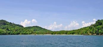 Haad Farang plaża przy Mook wyspą Zdjęcia Royalty Free