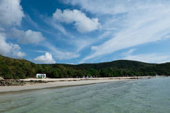 Haad Sai Kaew. Sai Kaew Beach Tourist attraction in Bang Sa-re, Thailand Royalty Free Stock Image
