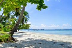 Haad Sivalai plaża na Mook wyspie Zdjęcie Stock