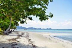 Haad Sivalai plaża na Mook wyspie Obrazy Royalty Free
