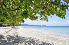 Haad Sivalai plaża na Mook wyspie Fotografia Stock