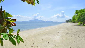 Haad Sivalai plaża na Mook wyspie Fotografia Royalty Free
