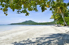 Haad Sivalai plaża na Mook wyspie Zdjęcia Stock