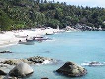 Haad Yuan Beach Koh Phangan Island Stockbild