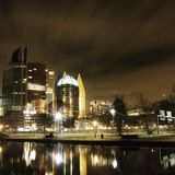 Haag mitt Arkivfoto