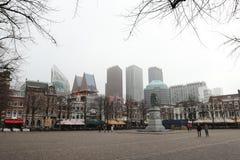 Haag plein Arkivbilder