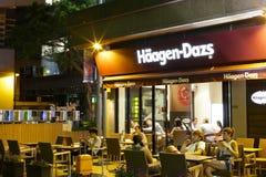 Haagen-dazs Cremeshop Lizenzfreie Stockfotos