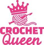 Haak koningin Royalty-vrije Stock Foto