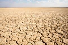 Haakskeen Pan salt flats, Kalahari, South Africa Royalty Free Stock Photography
