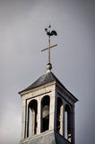 Haan bovenop een kerk Royalty-vrije Stock Foto