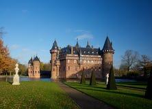 Haar Castle Panorama Utrecht Netherlands fotografia stock