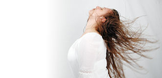 Haar dance-2 Lizenzfreies Stockbild