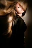 Haar in der Bewegung Stockfotografie