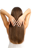 Haar der Frauen Stockfotografie