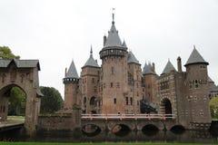 Haar kasteel DE Stock Foto's