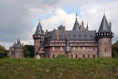 haar kasteel för de Royaltyfria Foton