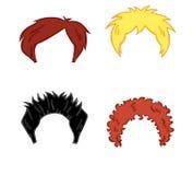 Haarart für Mann Lizenzfreie Stockbilder