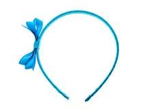 Haarband, hoofdband of haarhoepel die op witte achtergrond wordt geïsoleerd royalty-vrije stock afbeeldingen