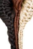 Haarbeschaffenheit Lizenzfreie Stockbilder