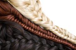 Haarbeschaffenheit Stockfoto