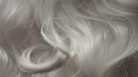 Haarbeschaffenheitshintergrund, keine Person stock footage