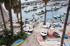Haarbour på Dubrovnik Arkivbild