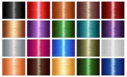 Haarfarbe redet Beschaffenheit an Lizenzfreies Stockbild
