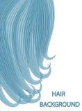 Haarhintergrund kann als Visitenkarten und Werbung und Einladung und Gutschein benutzt werden Stockfoto