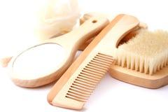 Haarhygiene Stockfoto