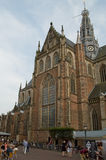 Haarlem cathedral Royalty Free Stock Image