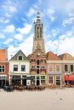Haarlem central square, Netherlands stock photo