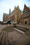 Haarlem church Royalty Free Stock Photography