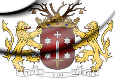 Haarlem Coat of Arms, Netherlands. Stock Images