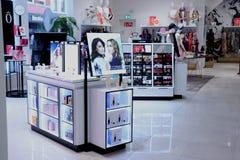 Haarlem, die Niederlande - 8. Juli 2018: Parfüm in einem Speicher Lizenzfreie Stockfotografie
